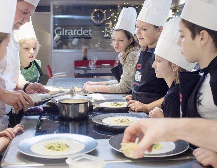 Cours De Cuisine A 10 Min De Lausanne Restaurant De L Hotel De
